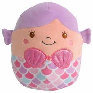 "Squishmallow Kellytoy 16"" Denise the Mermaid Plush"